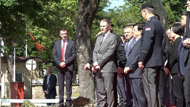 Ministar javne bezbednosti Kine prisustvovao vežbi SAJ-a