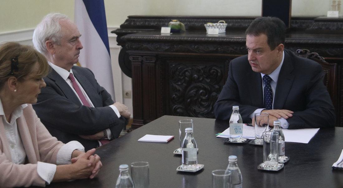 Dačić zahvalio ambasadoru Španije na poziciji po pitanju Kosova i Metohije