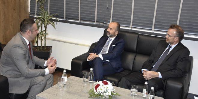 Popović sa generalnim direktorom za evropske poslove i delegacijom Norveške