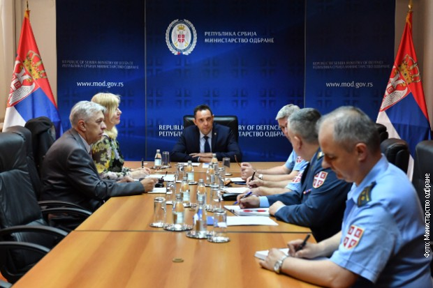 Vulin sa predstavnicima SMATSA o unapređenju saradnje