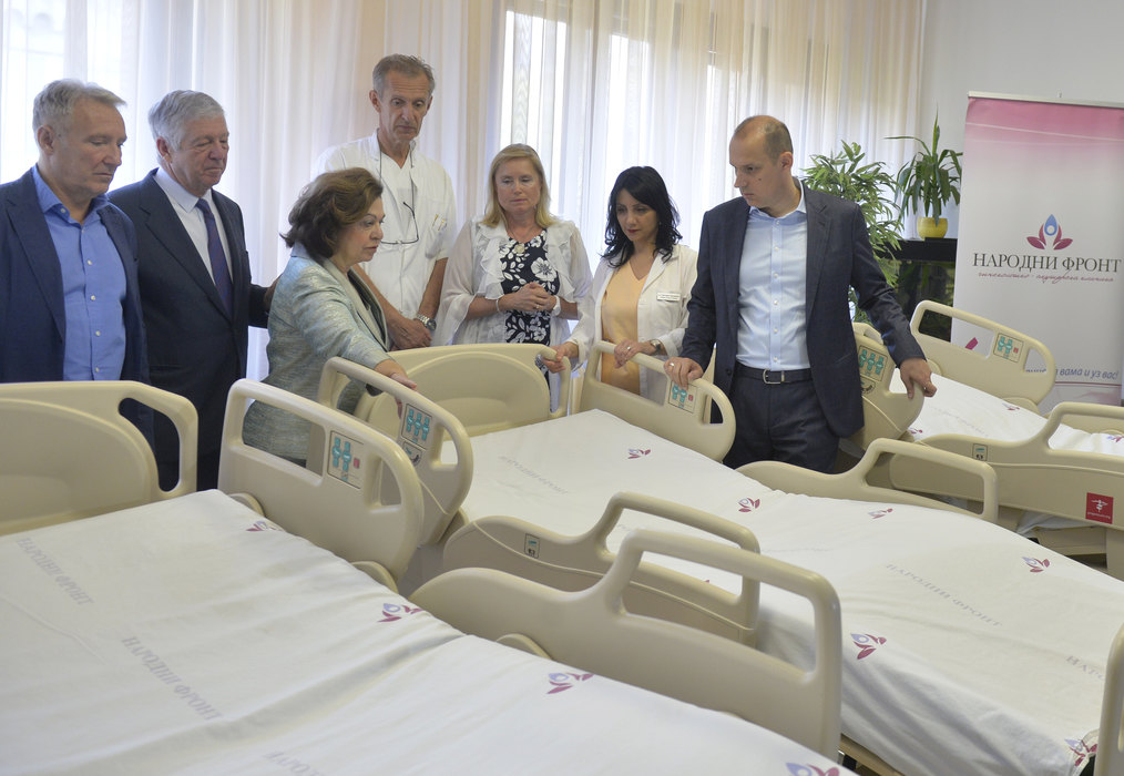 Karađorđevići donirali CTG aparate i električne krevete