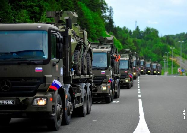 Hrvatska: Stigle oružane snage Crne Gore, BiH, Slovenije