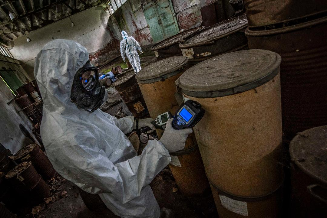 Kfor nastavlja nadgledanje otrovnog industrijskog materijala