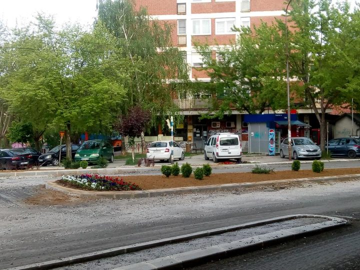 Ozelenjavanje ostrvskih površina u Kosovskoj Mitrovici