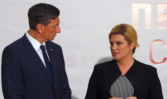 Zagreb: Neformalno druženje Grabar-Kitarovićeve i Pahora