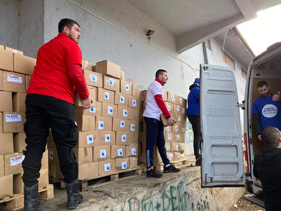 U Leposaviću počela podela paketa namenjenih socijalno ugroženim porodicama