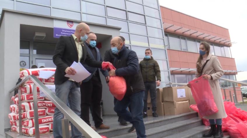 Humanitarna pomoć i svetosavski paketići Udruženja