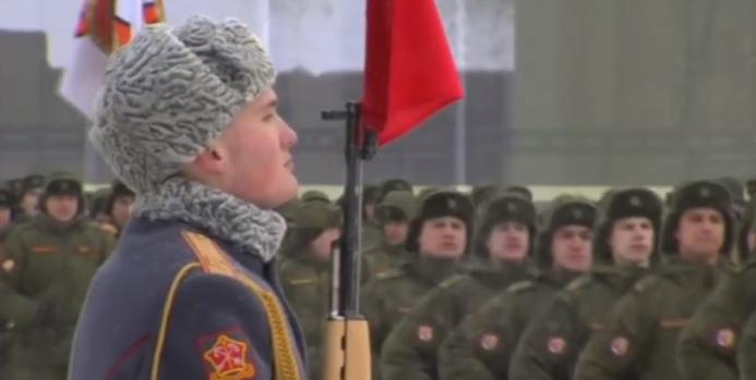 Vojna parada povodom godišnjice oslobođenja Lenjingrada