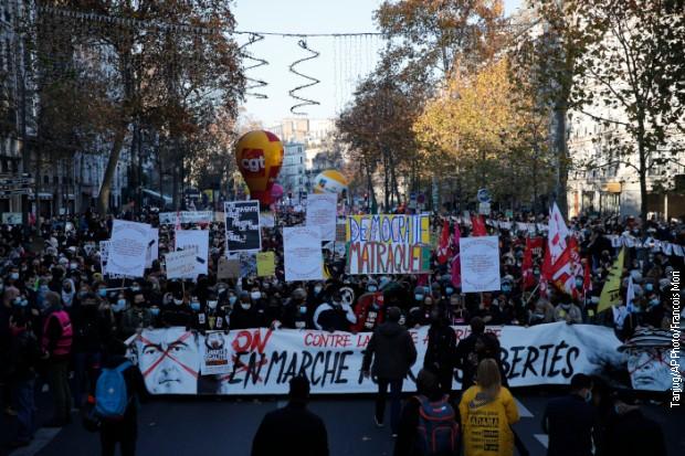 Protesti u Francuskoj zbog zakona o snimanju policije