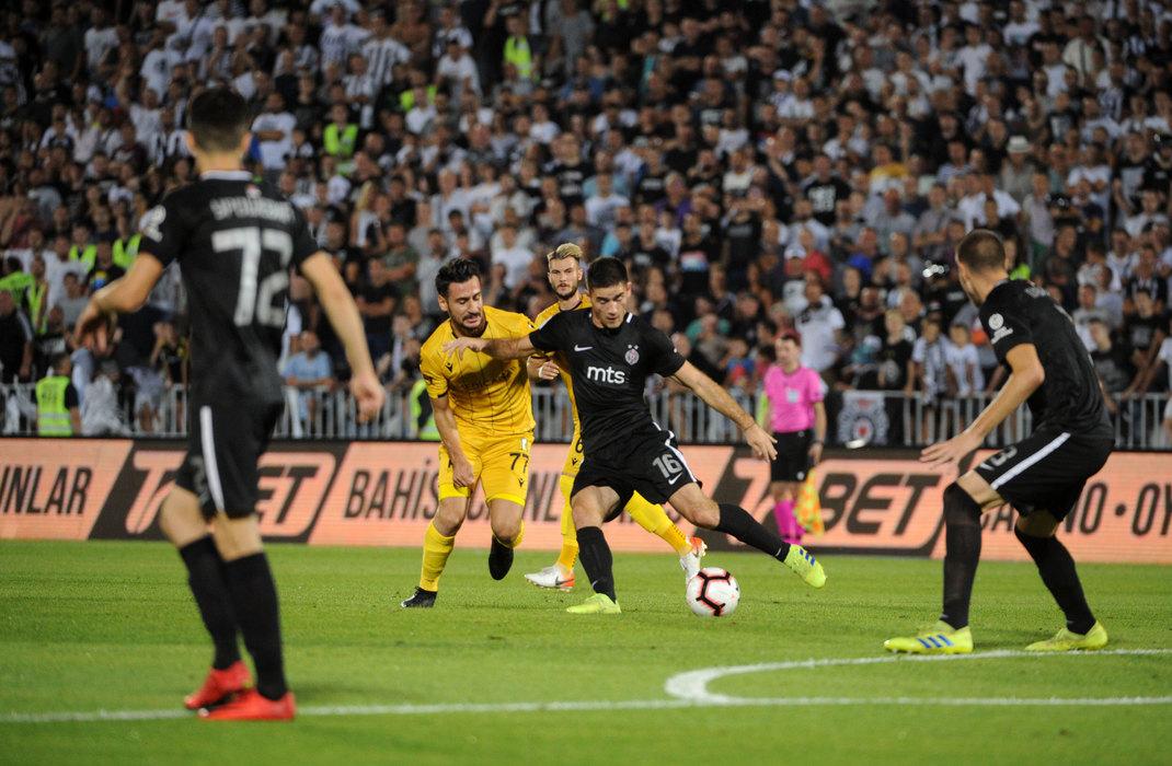 Fudbaleri Partizan pobedili tursku Malataju, 3:1