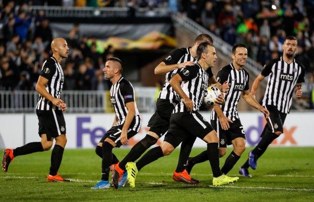 Partizan  AZ Alkmar - 2:2
