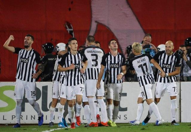 Partizan - Crvena zvezda 2:0