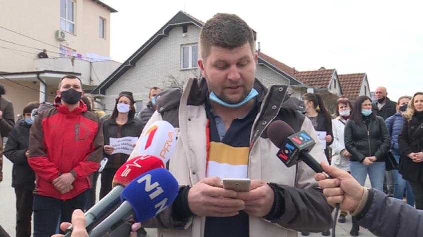 Protest u Pasjanu: Vučiću, zaustavi zapošlavanje preko veze