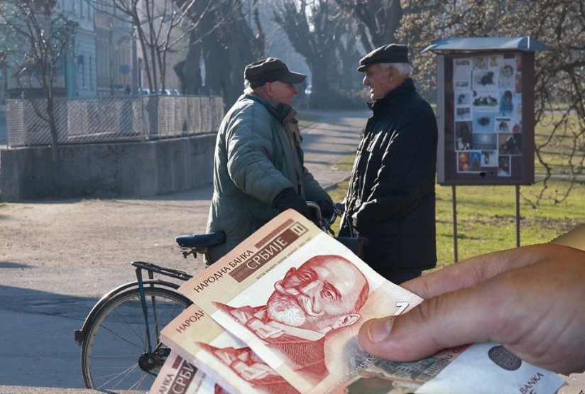 Jednokratna pomoć penzionerima, minimalno 4.000 dinara