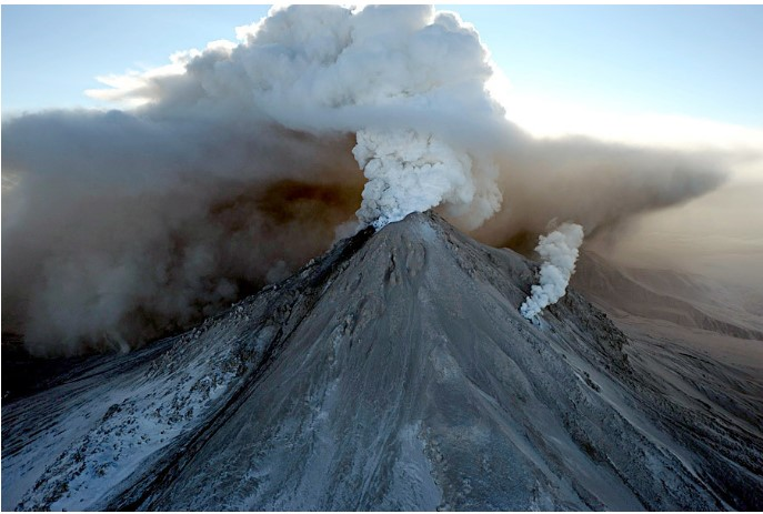 Erupcija vulkana na Kamčatki
