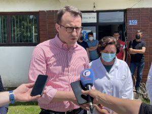 Petković: Zadovoljni smo velikim brojem vakcinisanih na KiM