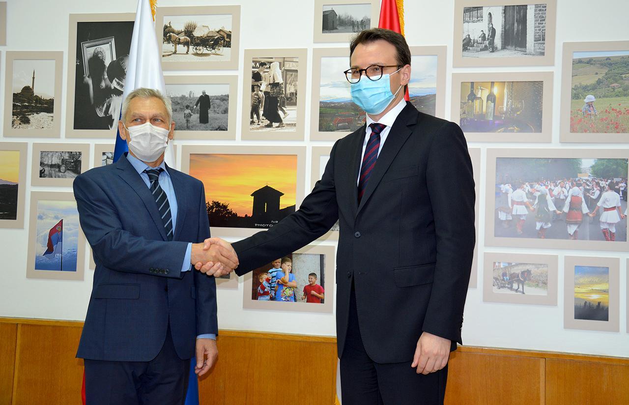 Petković sa Bocan Harčenkom: Za Srbiju, podrška Rusije u SB UN po pitanju KiM od izuzetne važnosti