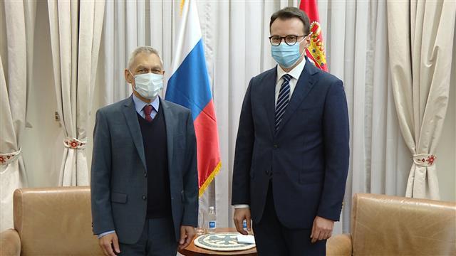Petković sa Bocan Harčenkom o toku dijaloga Beograda i Prištine