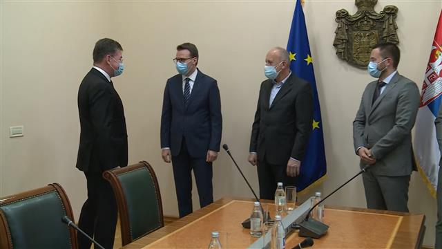 Petković Lajčaku: ZSO mora biti formirana odmah