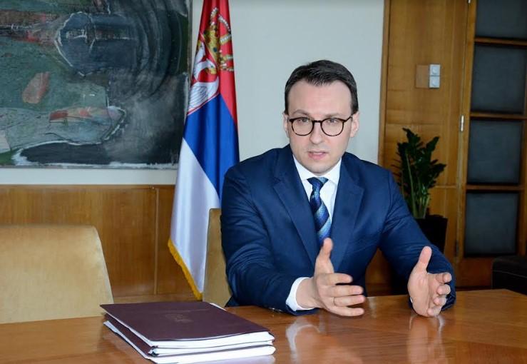 Petković: Najavljujući stvaranje Velike Albanije Kurti ruši međunarodno pravo i svaku mogućnost stvaranja trajnog mira
