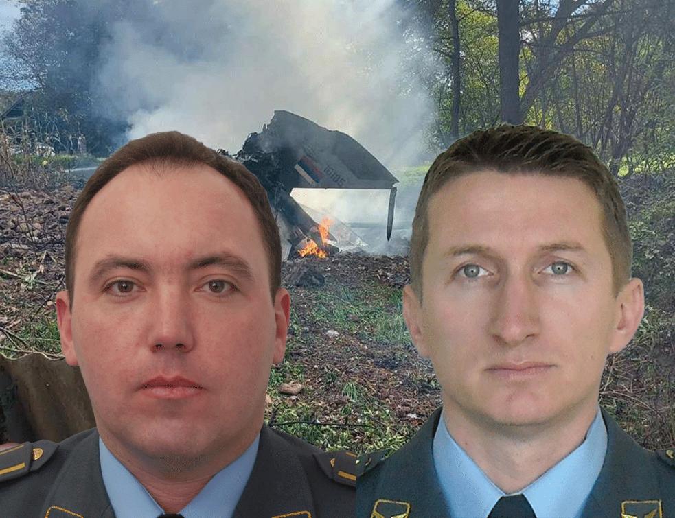 Ministar odbrane i načelnik Generalštaba obišli porodice poginulih pilota