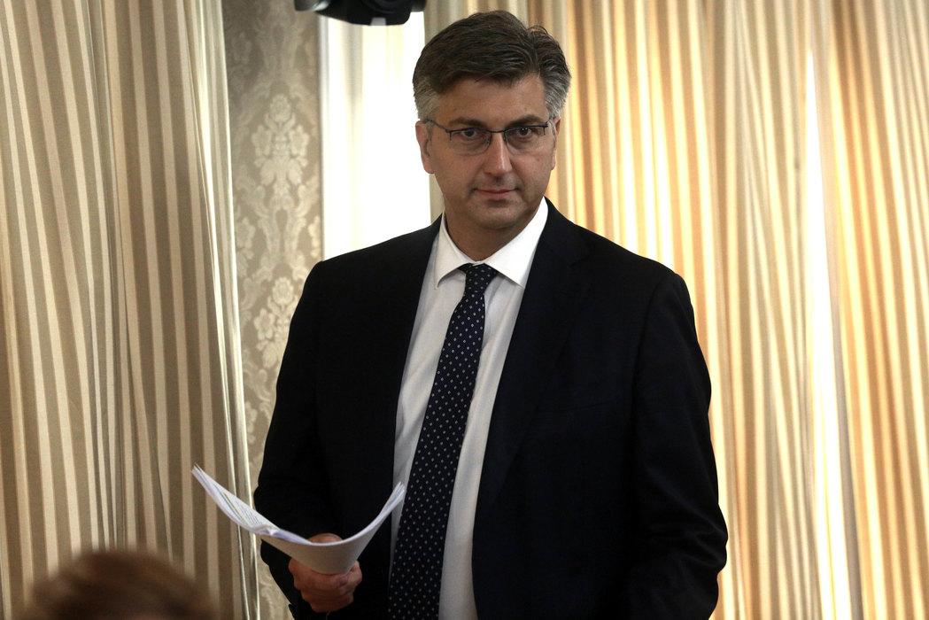 Plenković: Preko optužbi da radim za Srbiju se ne prelazi