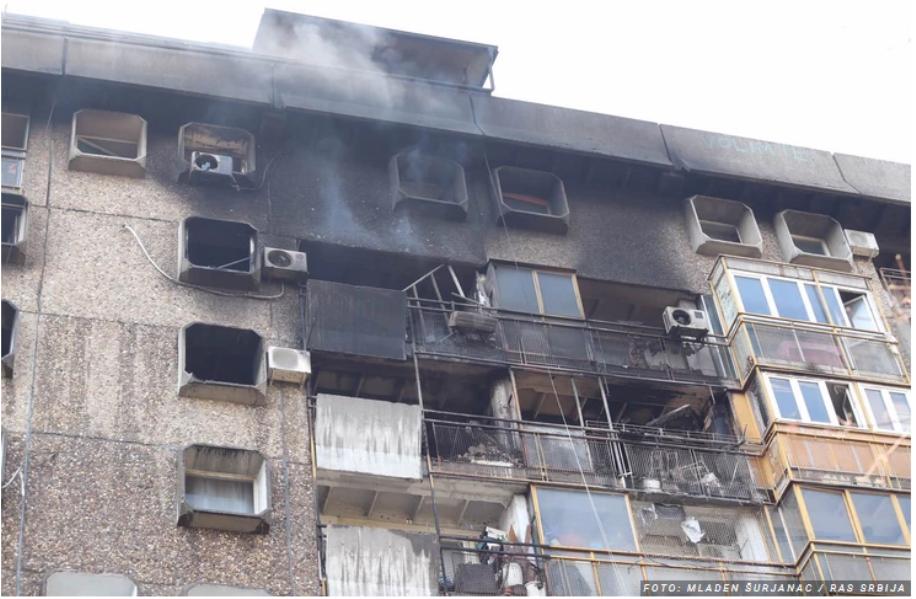 Tragedija na Novom Beogradu – šestoro mrtvih u požaru u stambenoj zgradi