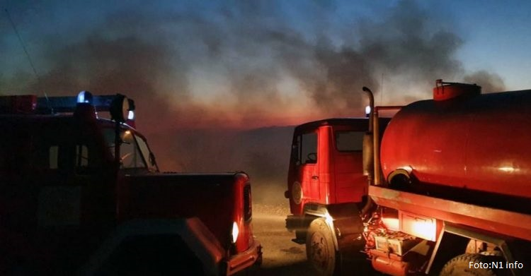 Šestoro mrtvih u požaru u Brčkom, spaseno četvoro dece