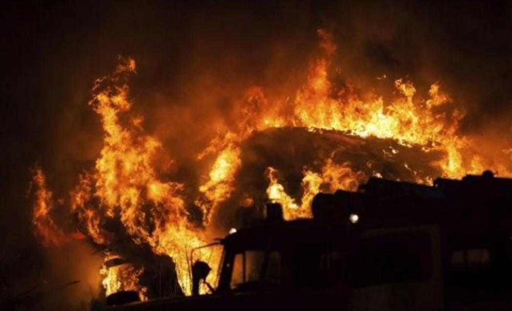 Izbio požar u kampu za migrante na Lezbosu