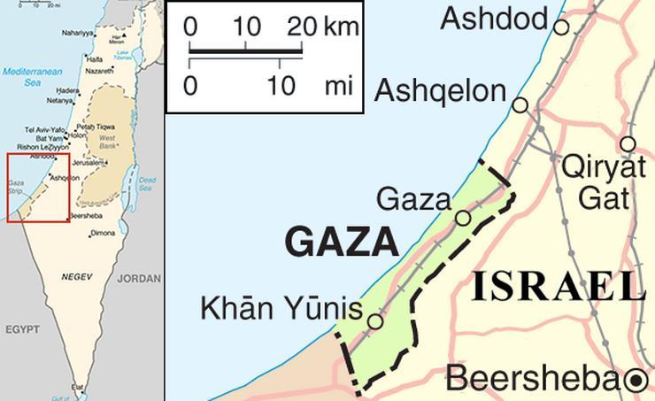 Ubijen Palestinac uoči protesta na granici sa Izraelom