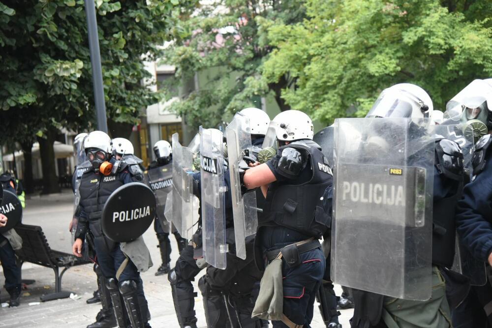 Gorović: Na Cetinju povređeno oko 20 policajaca