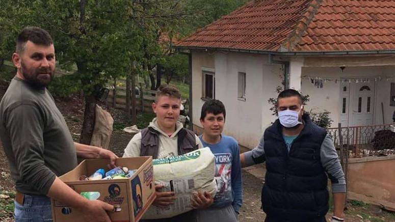 Paketi pomoći stigli na adrese 30 porodica u opštini Leposavić