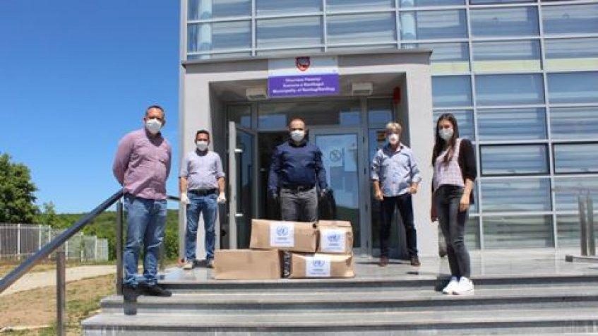 UNMIK donirao pakete pomoći ugroženim porodicama u Ranilugu