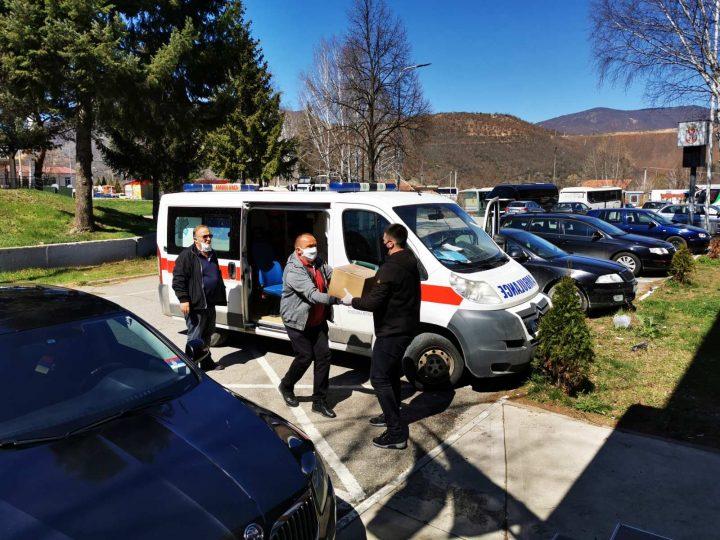 Privremeni organ opštine Kosovska Mitrovica donirao 300 litara medicinskog alkohola KBC-u Kosovska Mitrovica