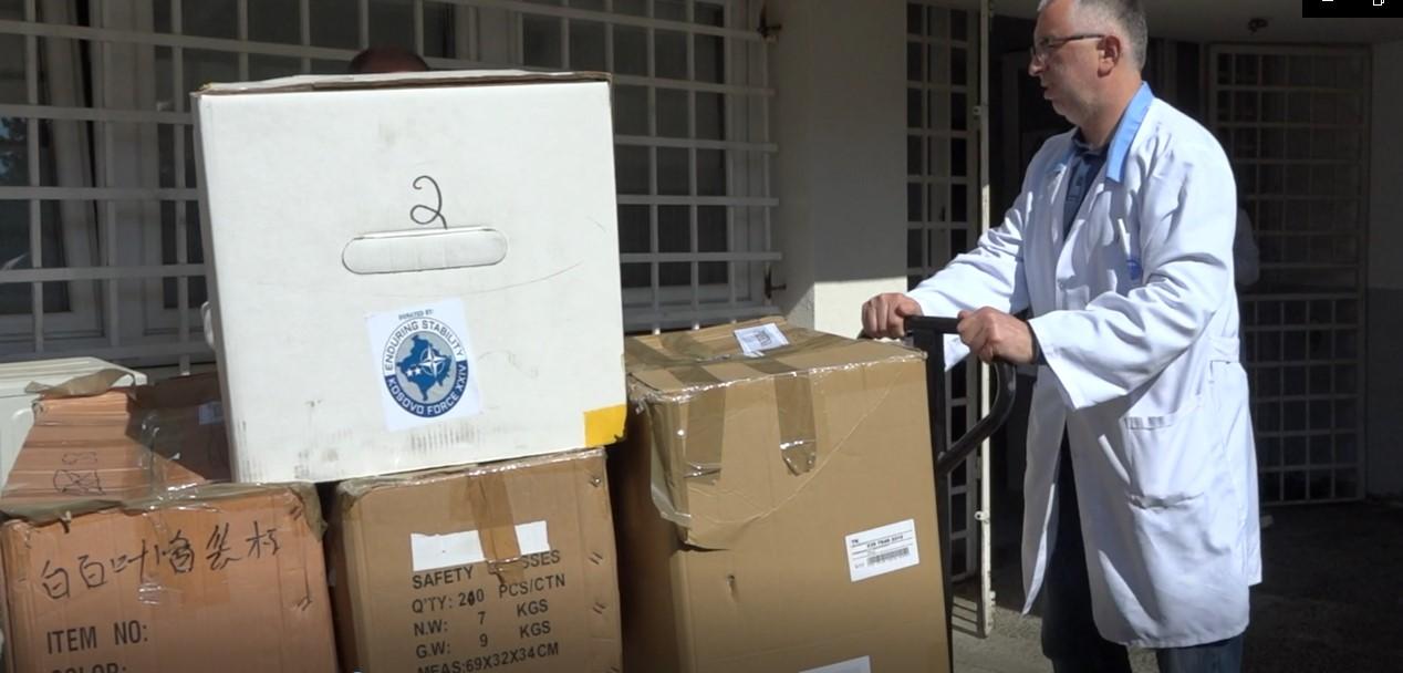KFOR podržava zdravstvene ustanove na KiM u borbi protiv pandemije