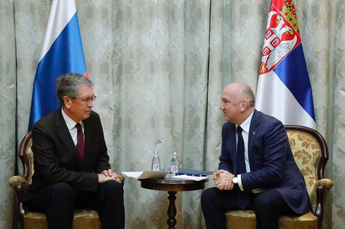 Popović: Srbija zahvalna Rusiji na podršci po pitanju Kosova