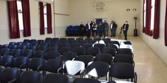 Popović obišao rekonstruisani Dom kulture u Donjoj Gušterici