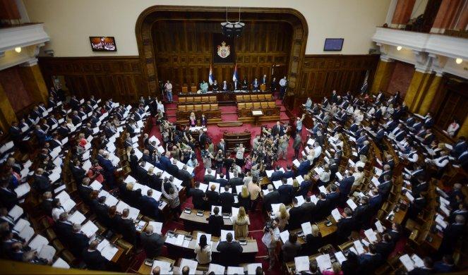 Skupština o predlogu zakona o nestalim bebama