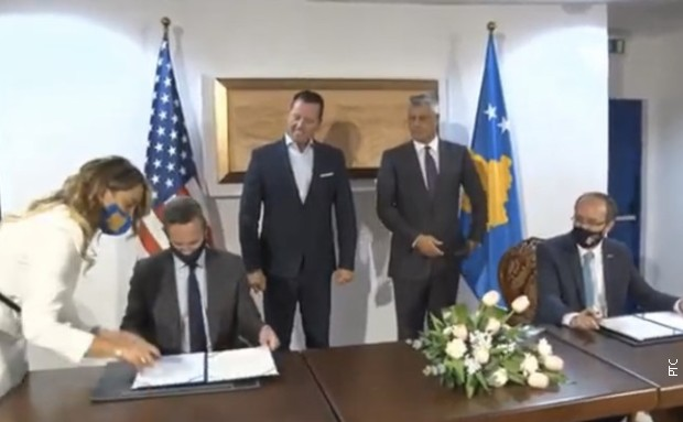Bouler i Hoti potpisali ekonomski sporazum