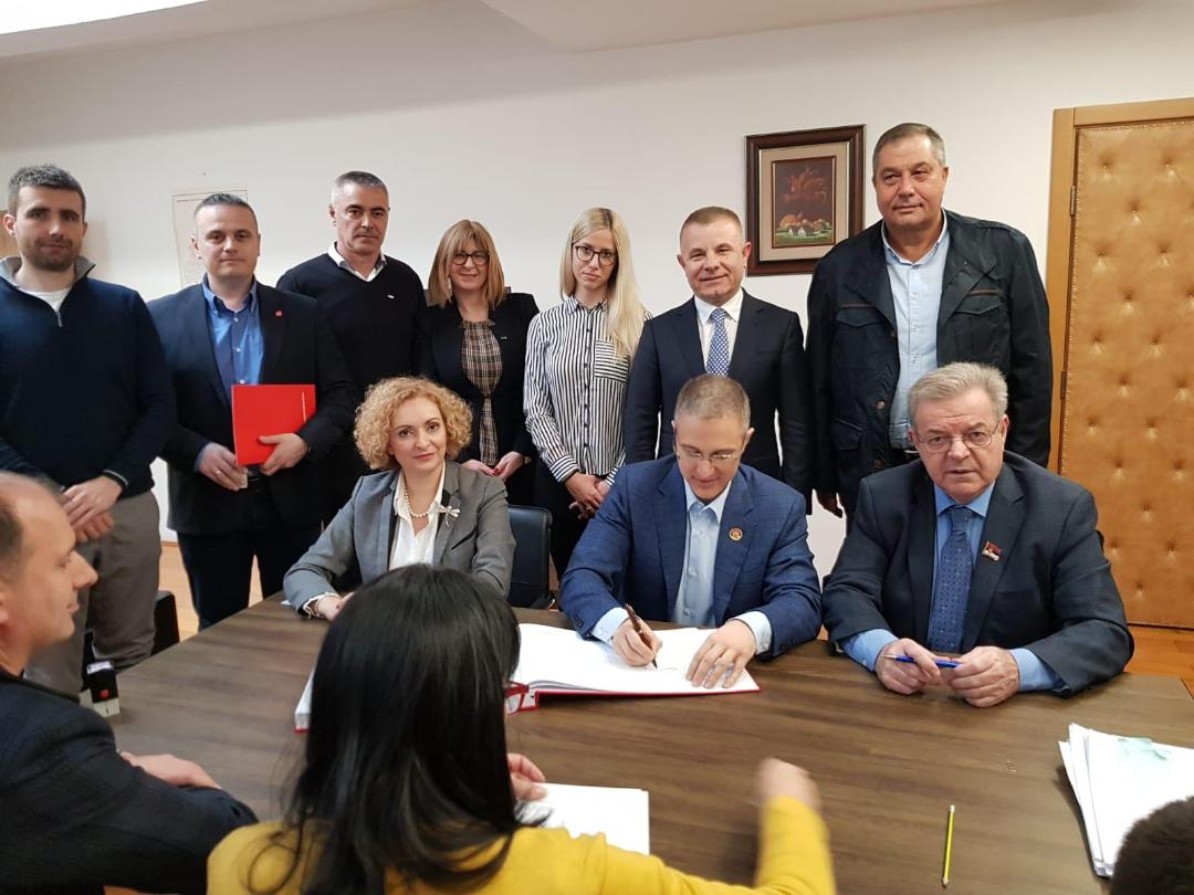 SNS i PSS - BK potpisali koalicioni sporazum