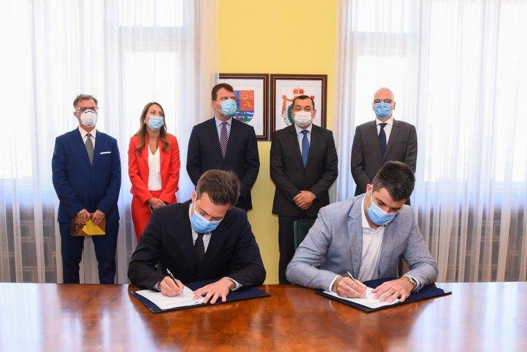 Potpisan ugovor za završetak druge faze radova u Naučno-tehnološkom parku vredan 9,5 miliona evra