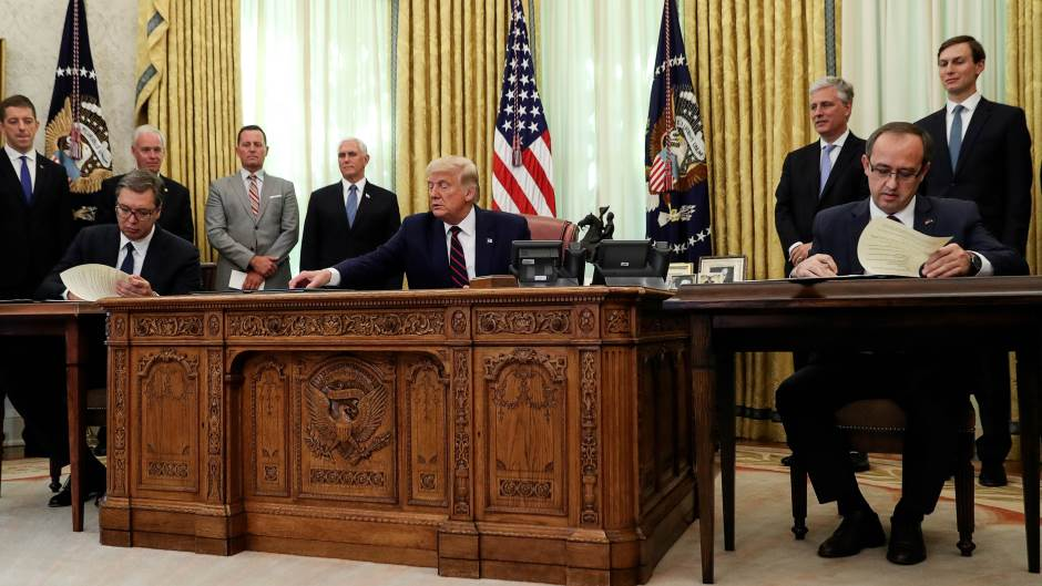 Pendarovski i Hoti: Vašingtonski sporazum korak napred