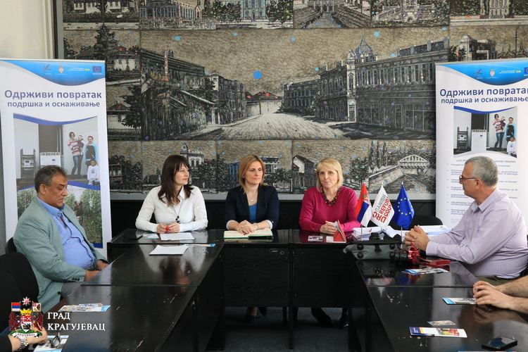 Oprema i programske obuke zainteresovanima za povratak na Kosovo