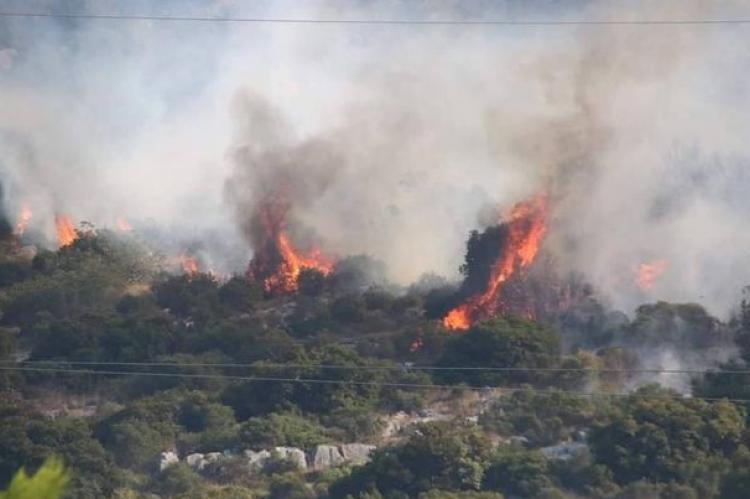 Tri kanadera gase požar na Pelješcu