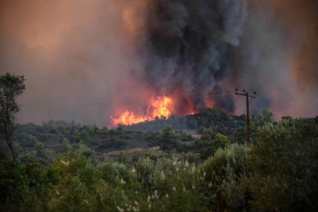 Požari na poluostrvu Atika, naređena evakuacija