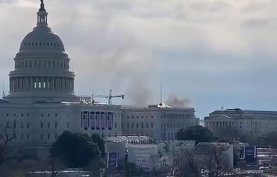 Uzbuna na Kapitolu zbog manjeg požara blizu zgrade