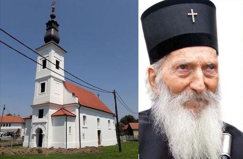Vrh SPC u rodnom selu patrijarha Pavla osveštava crkvu