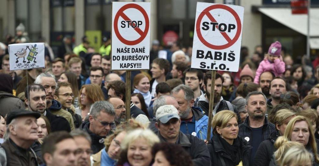 Hiljade Čeha na protestu protiv smene ministra pravde