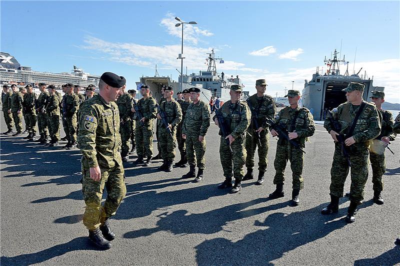 Pripadnici oružanih snaga Albanije i tzv. Kosova stigli u Zadar FOTO