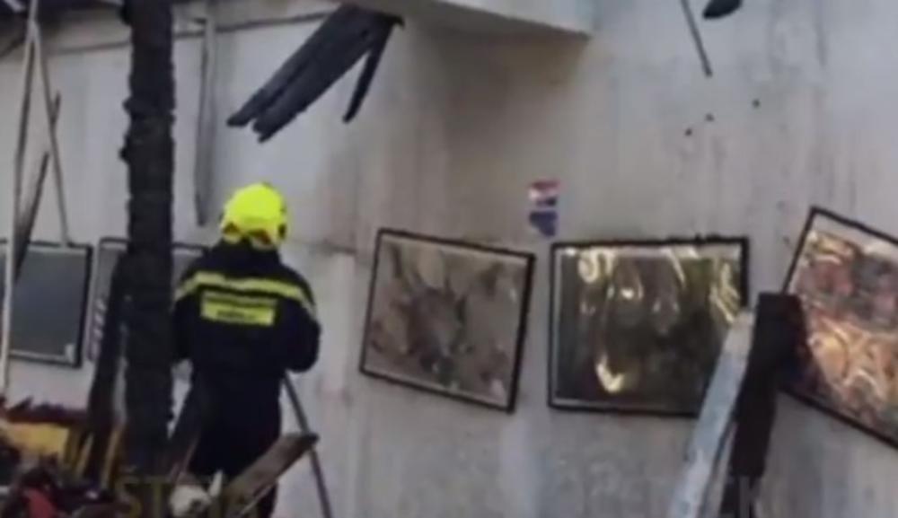 Požar u srednjoj školi u Hrvatskoj, izgoreo restoran
